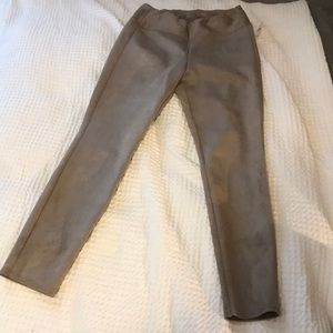 Pull On Suede Gap Pants Size Small
